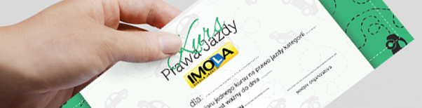 Kurs Prawa Jazdy na prezent - bon podarunkowy